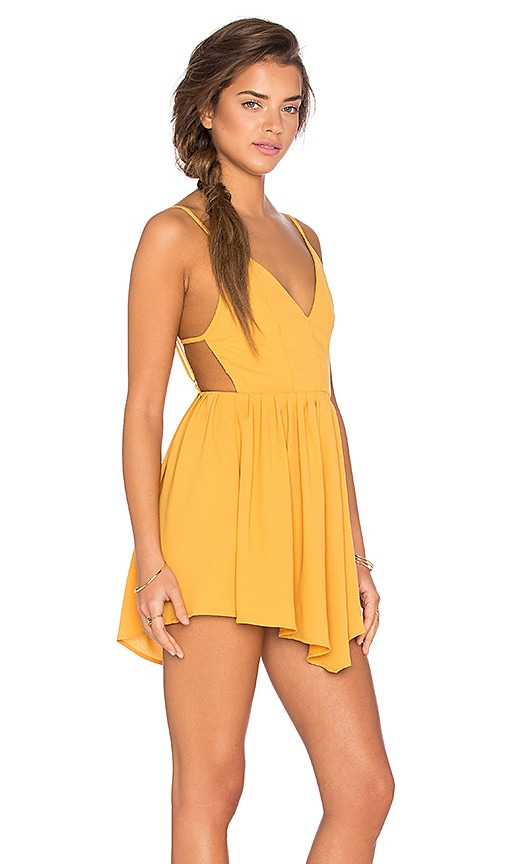 GLAMOROUS Dress in Yellow