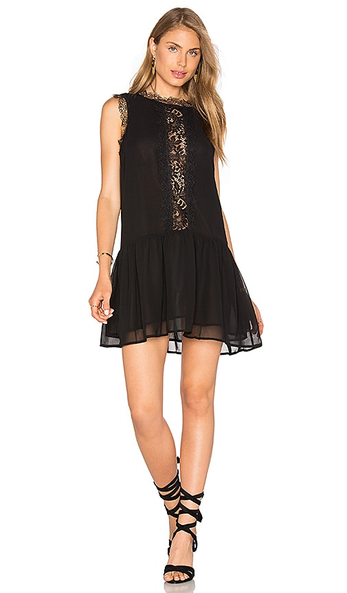 GLAMOROUS Mini Dress in Black