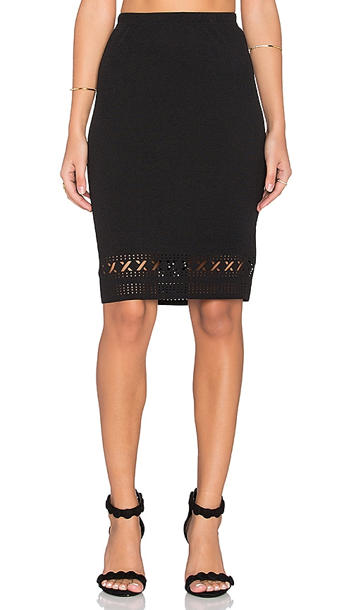 GLAMOROUS Pencil Skirt in Black