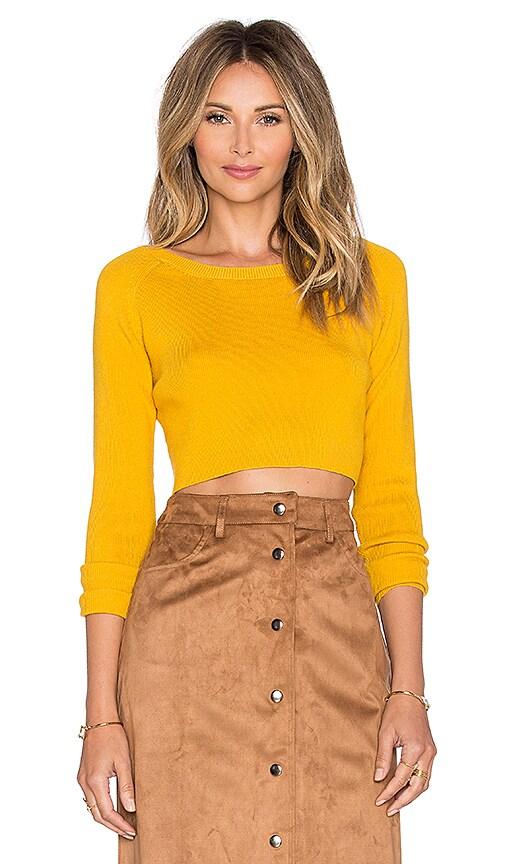 Crop Long Glamorous MustardRevolve Top Sleeve In 8vnPmywN0O