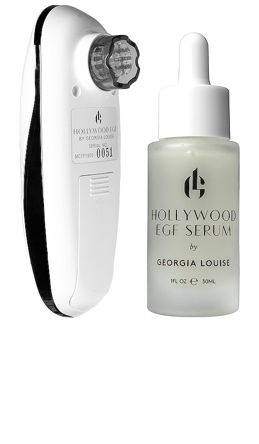 Pulse+glo By Georgia Louise Hollywood Egf Micro-needling + Ion Infusion Kit