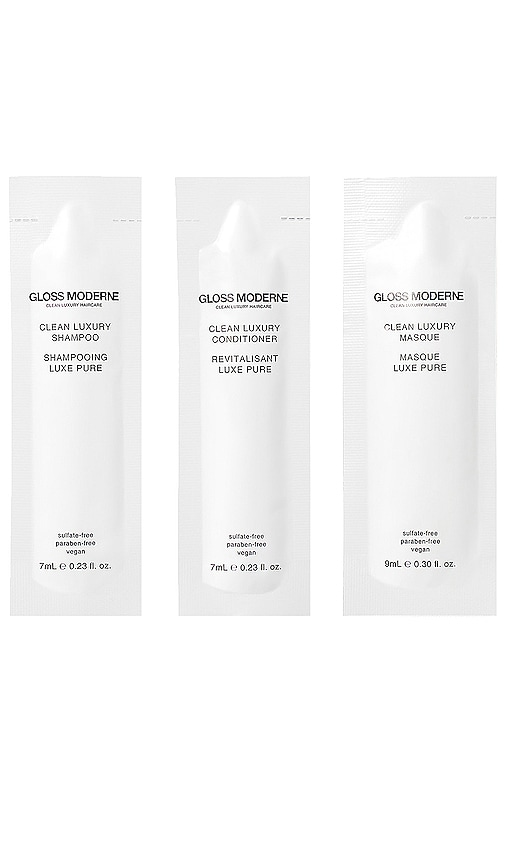 GLOSS MODERNE Clean Luxury Discover Set 3 Pack in Beauty: Na
