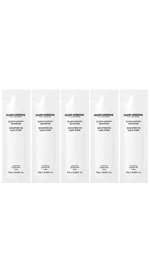 GLOSS MODERNE CLEAN LUXURY TRAVEL SHAMPOO 5 PACK