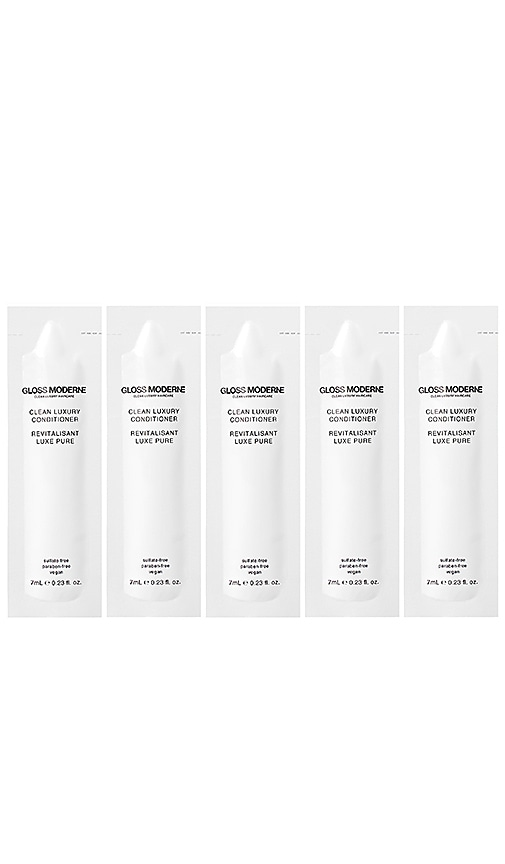 GLOSS MODERNE Clean Luxury Travel Conditioner 5 Pack in Beauty: Na
