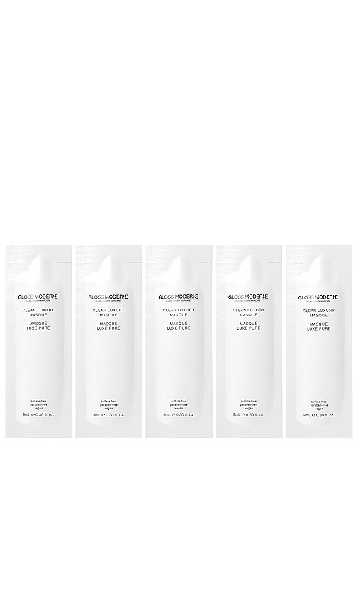 GLOSS MODERNE Clean Luxury Travel Masque 5 Pack in Beauty: Na
