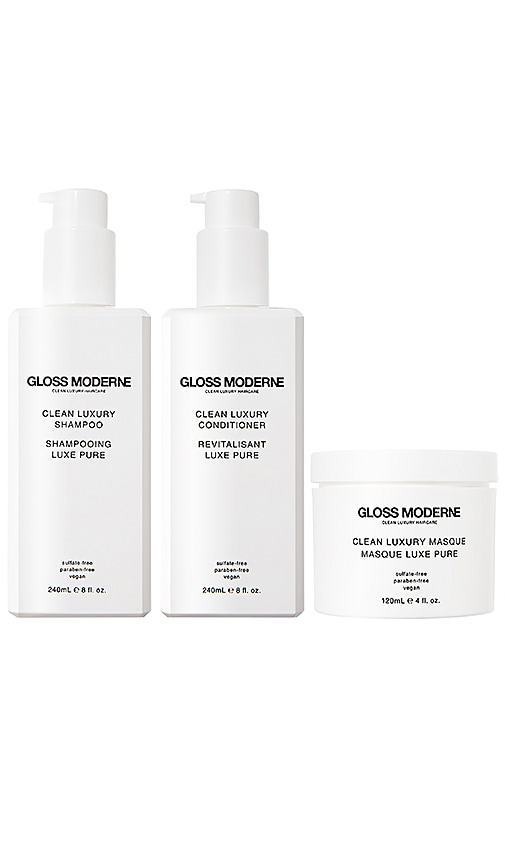 GLOSS MODERNE Clean Luxury Vegan Leather Boxed Collection in Beauty: Na