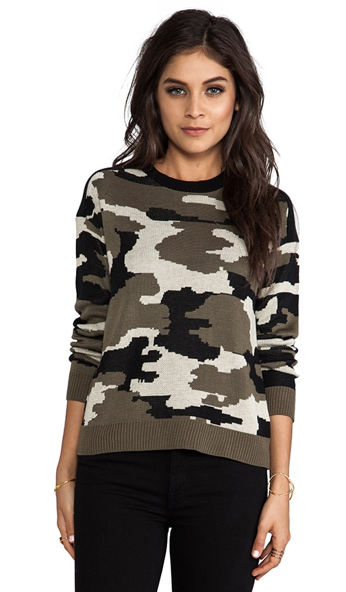 Ruby Army Sweater