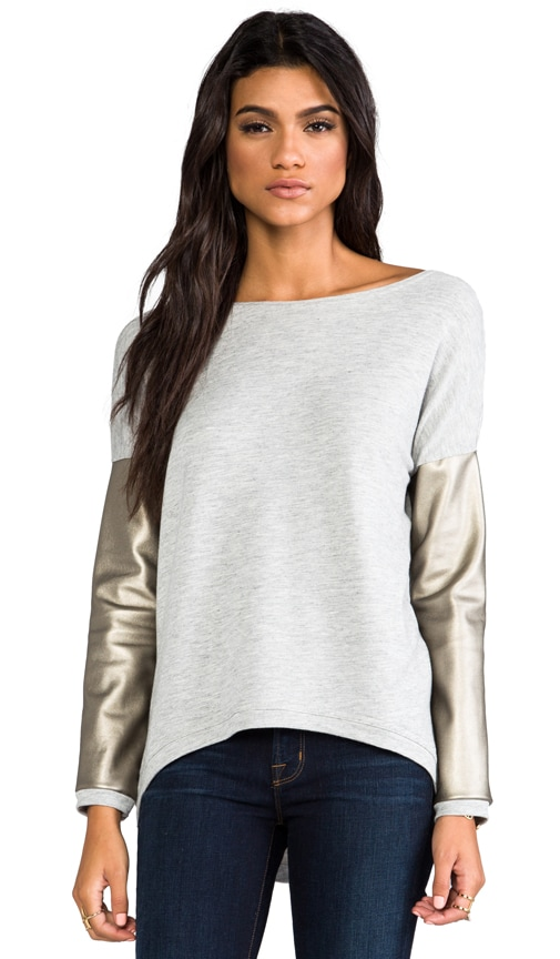 Bobo French Terry Long Sleeve Sweater