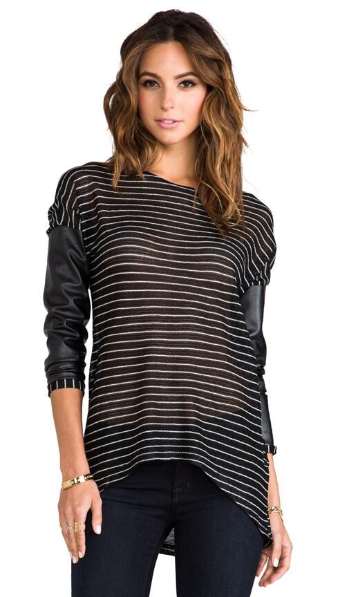Bobo Metallic Stripe Sweater