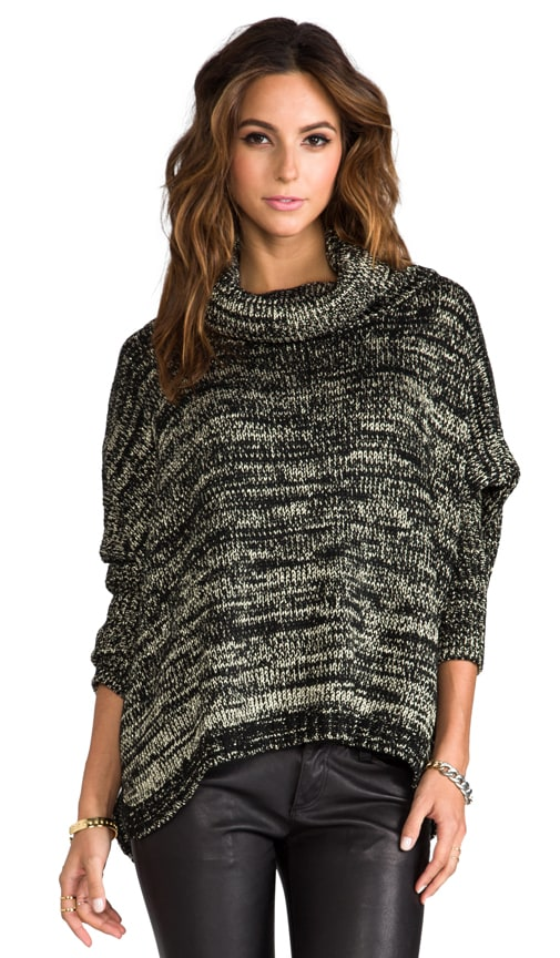 Brunch Metal Poncho Sweater