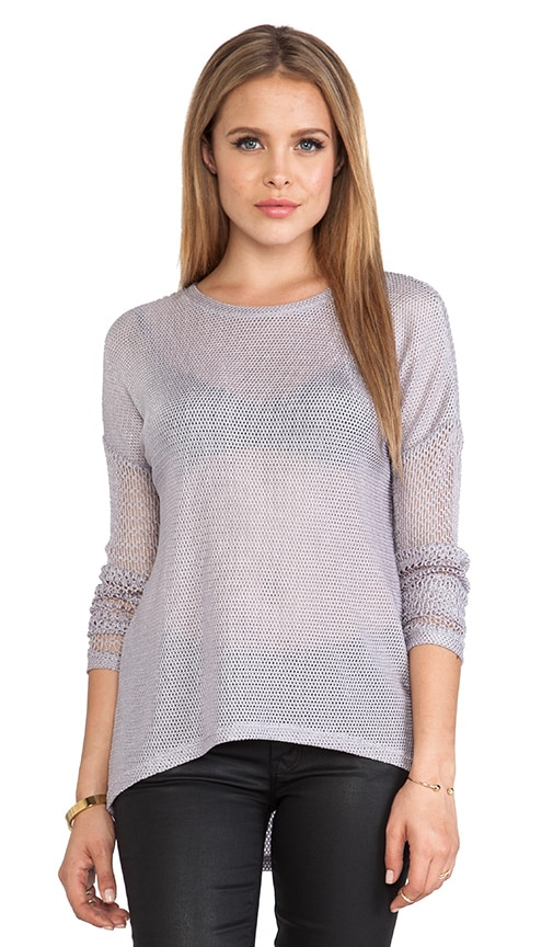 Juliet Combo Mesh Long Sleeve Shirt