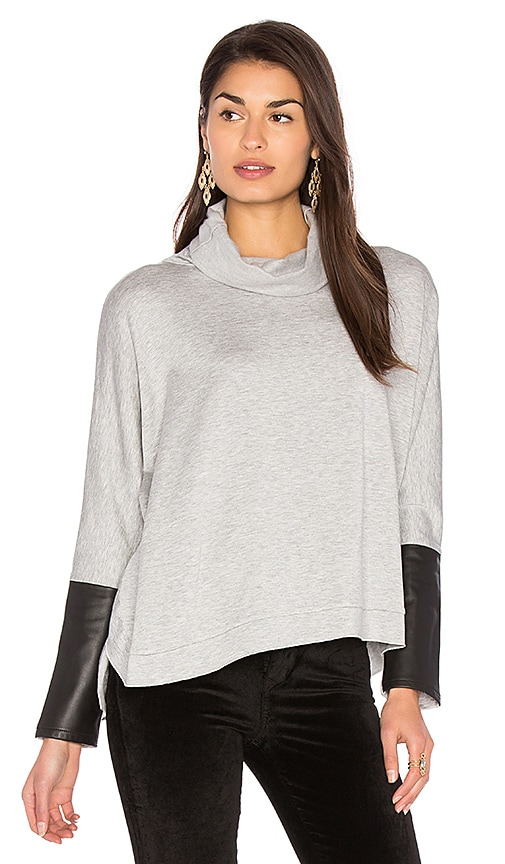 Generation Love Clara Oversized Sweatshirt in Gray