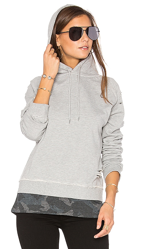 Generation Love Leo Hoodie in Gray