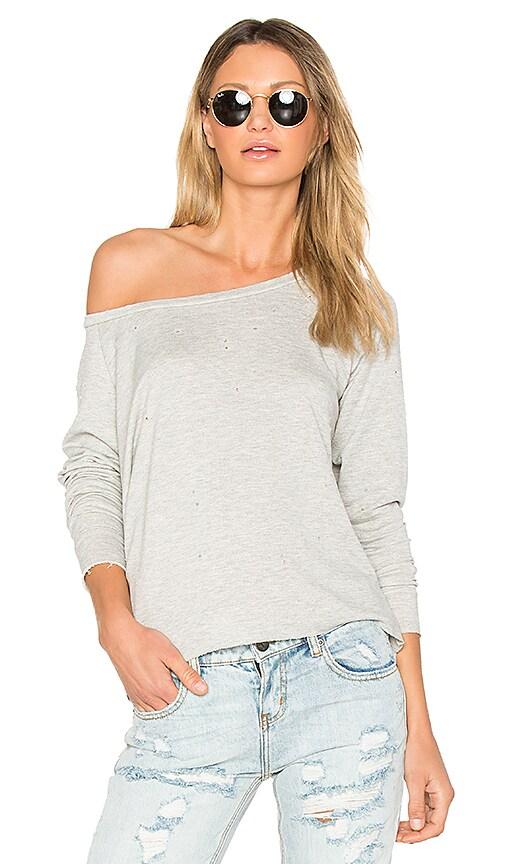 Generation Love Vanessa Holes Sweatshirt in Gray