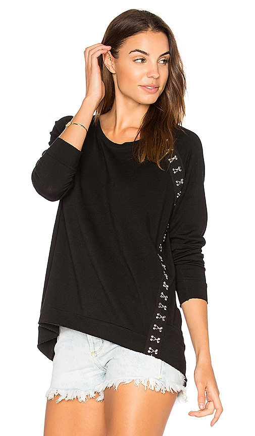 Generation Love Rowe Sweatshirt in Black