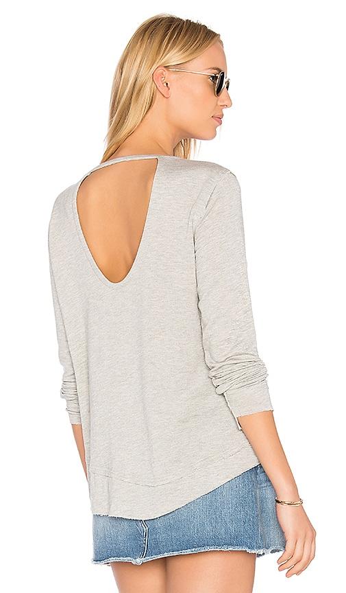 Generation Love Lawrence Holes Sweatshirt in Gray