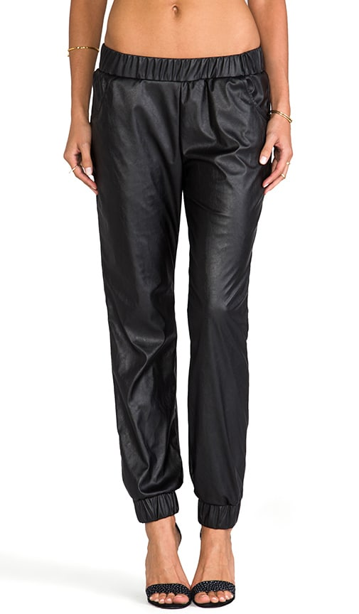 Jo Slouchy Leather Pant