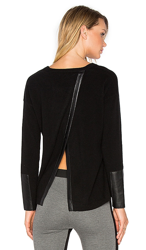 Generation Love Lexi Cashmere Top in Black