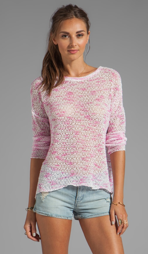 Judy Long Sleeve Weave Top
