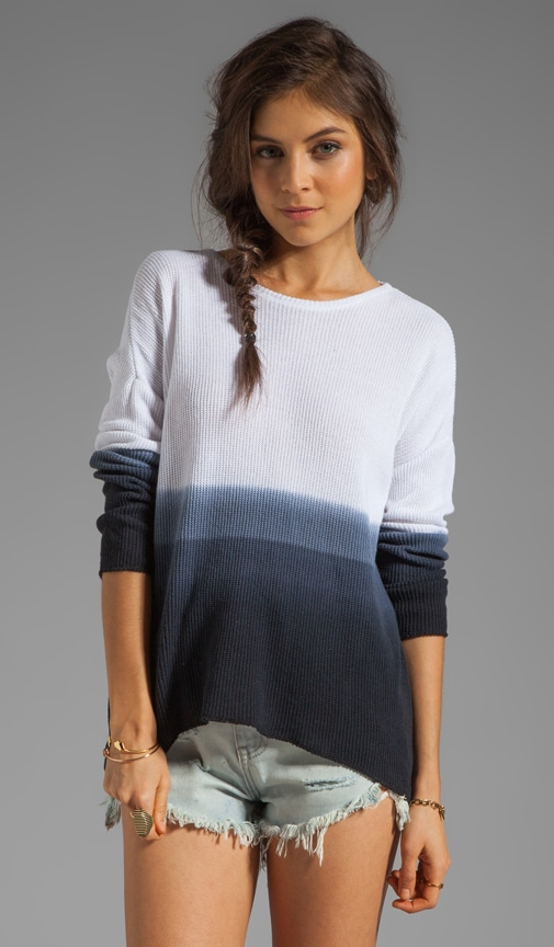 Judy Ombre Jacquard Long Sleeve