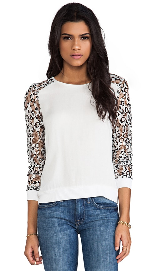 Aria Leopard Lace Long Sleeve
