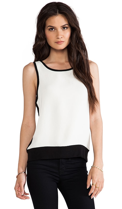Alicia Rib Detail Sleeveless