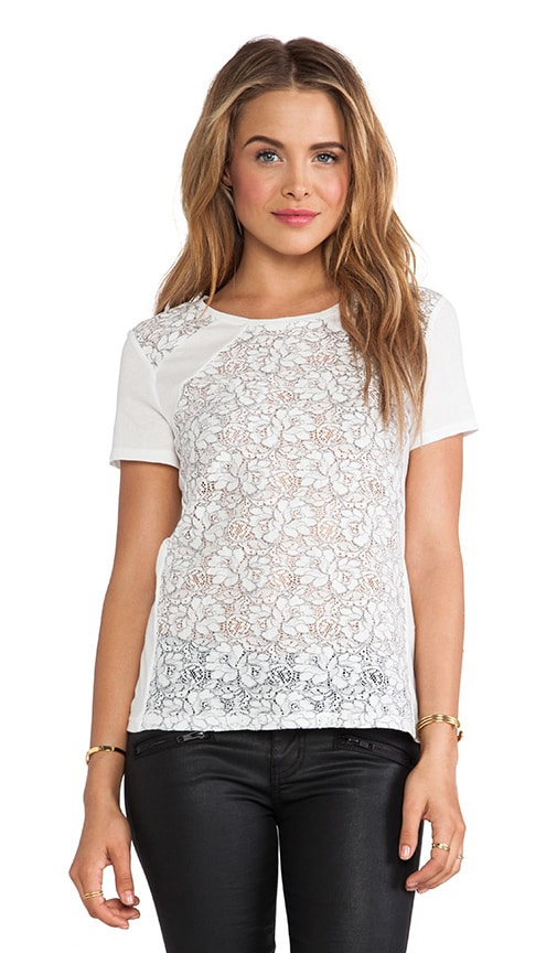 Erykah Lace Flower Top