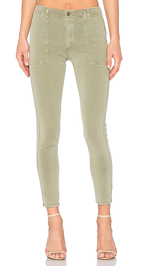 GM STUDIO The Utility Trouser in Olive