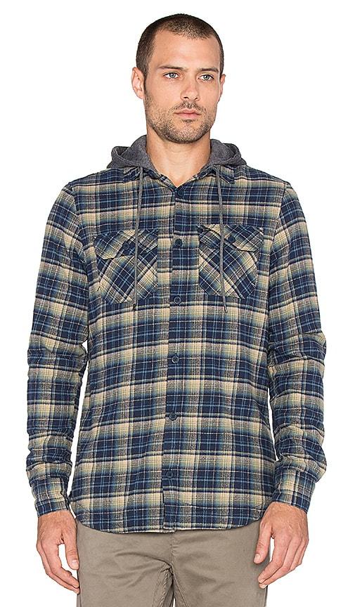 Globe Alford Shirt in Navy Green