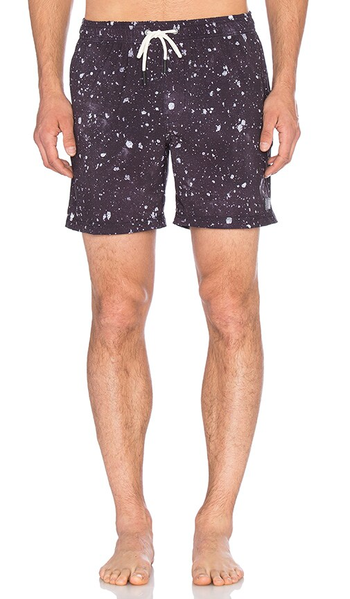 Globe Dye Die Pool Short in Navy