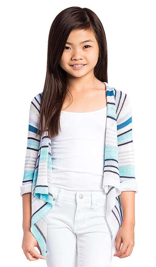 Goddis Naples Cardigan in Blue