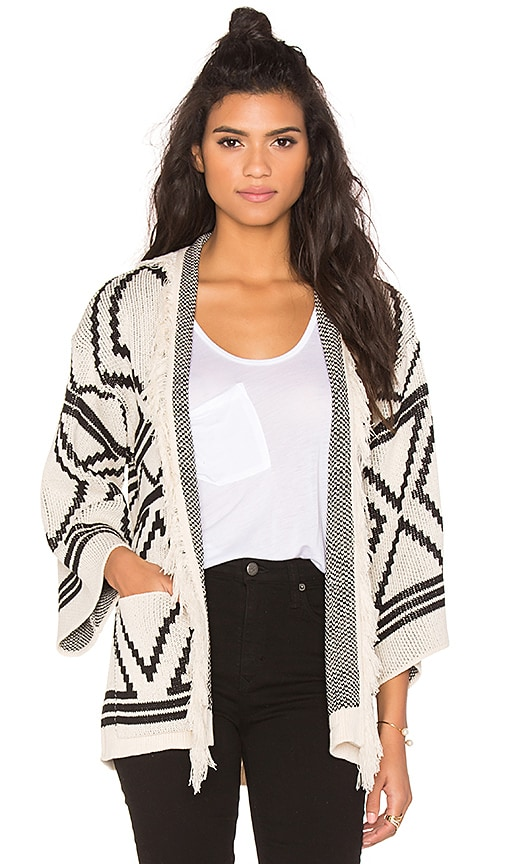 Goddis Ashlynn Cardigan in Cream