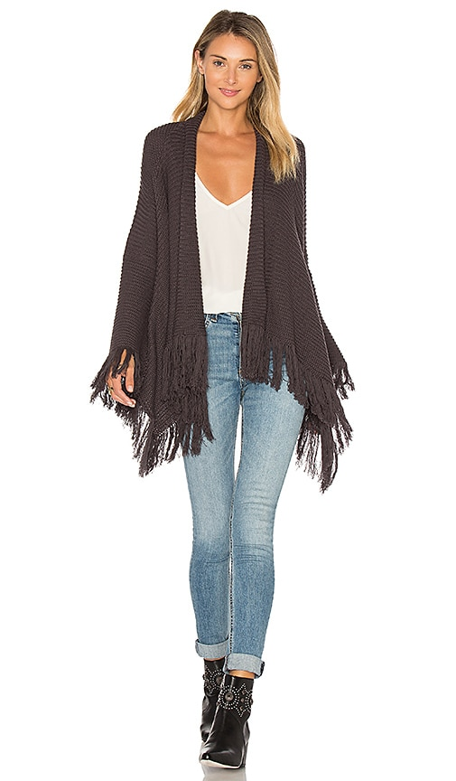 Goddis Isabel Cardigan in Charcoal