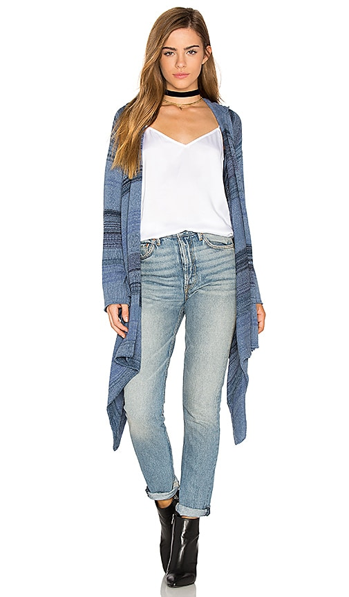 Goddis Leona Cardigan in Blue