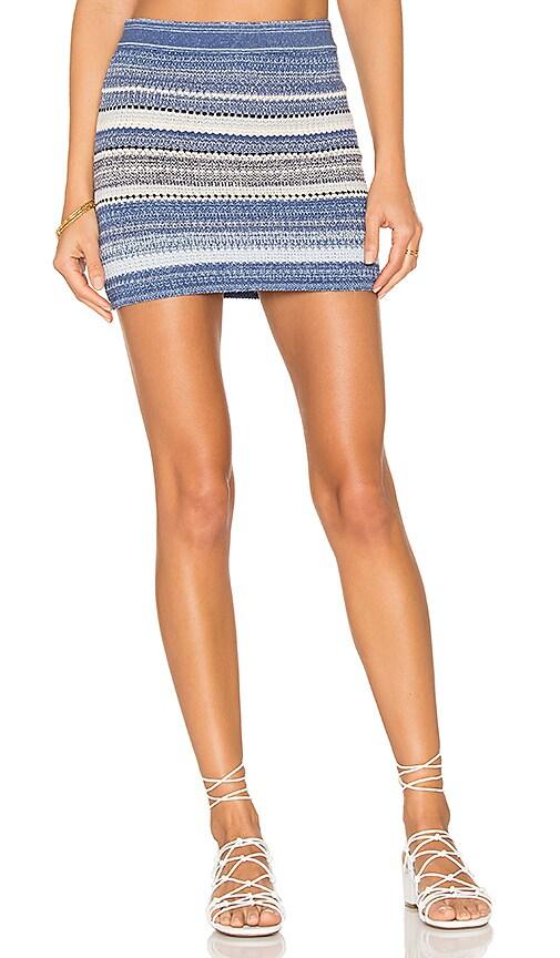 Goddis Spell Caster Skirt in Blue