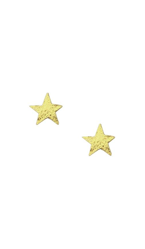 Small Star Studs