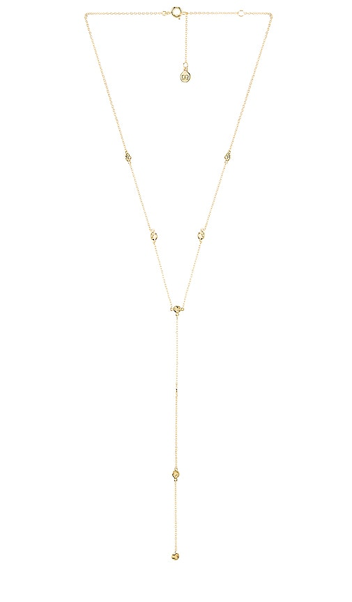 Chloe Short Lariat Necklace