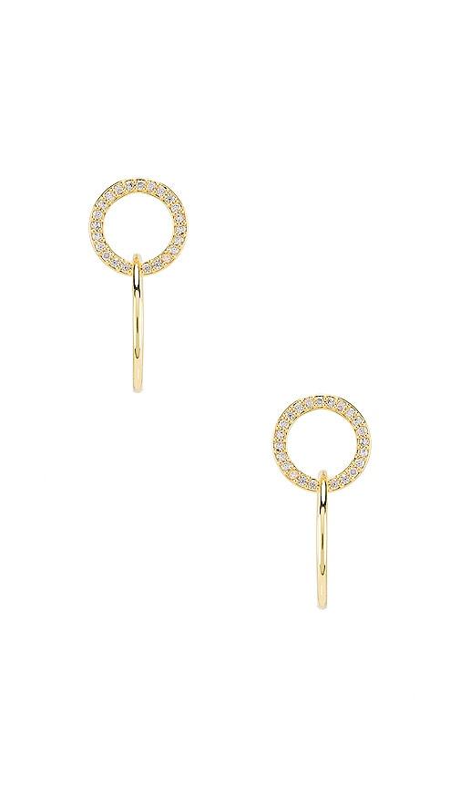 Balboa Shimmer Interlocking Stud Earrings