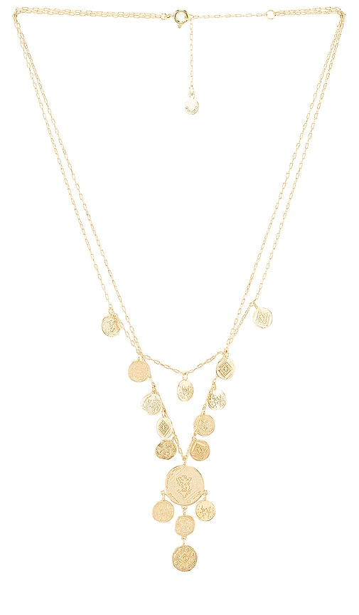 Ana Coin Layered Necklace