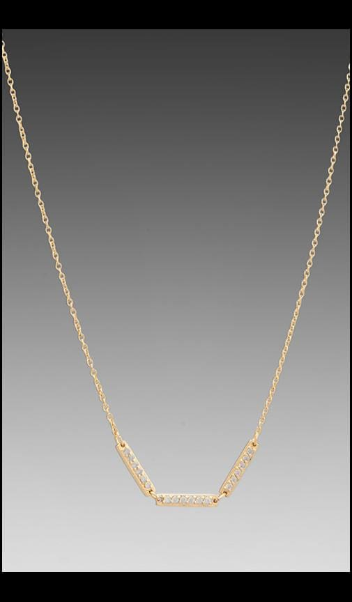 Kennedy Three Bar Necklace