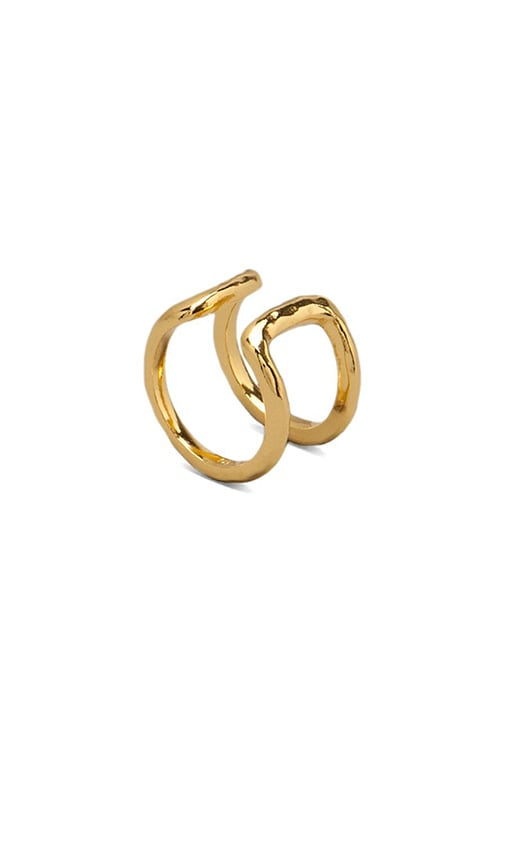 gorjana Teagan Ring in Metallic Gold