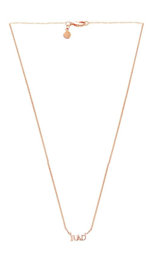 x REVOLVE Rad Necklace