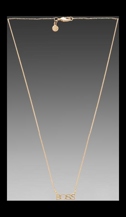 x REVOLVE Boss Necklace