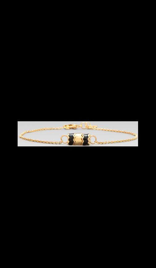 Zig Zag Enamel Bracelet