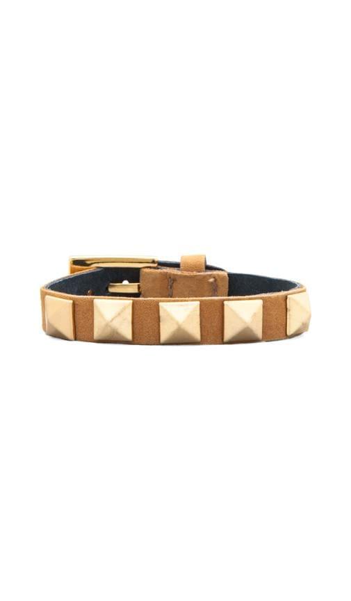 Sunset Pyramid Stud Bracelet