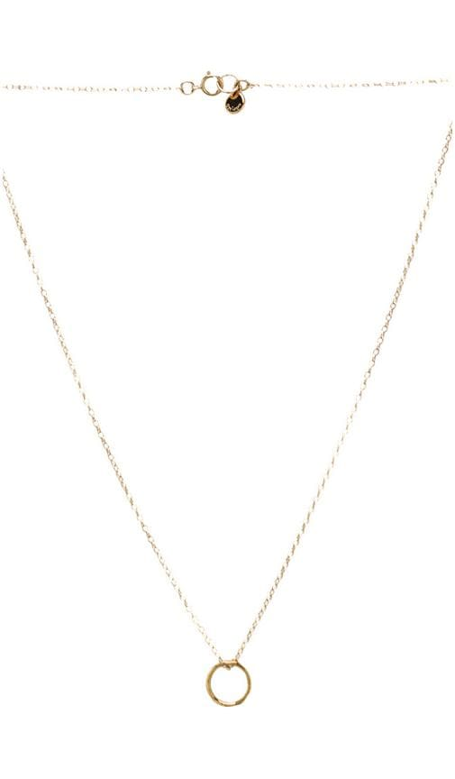 G Pressed Small Necklace