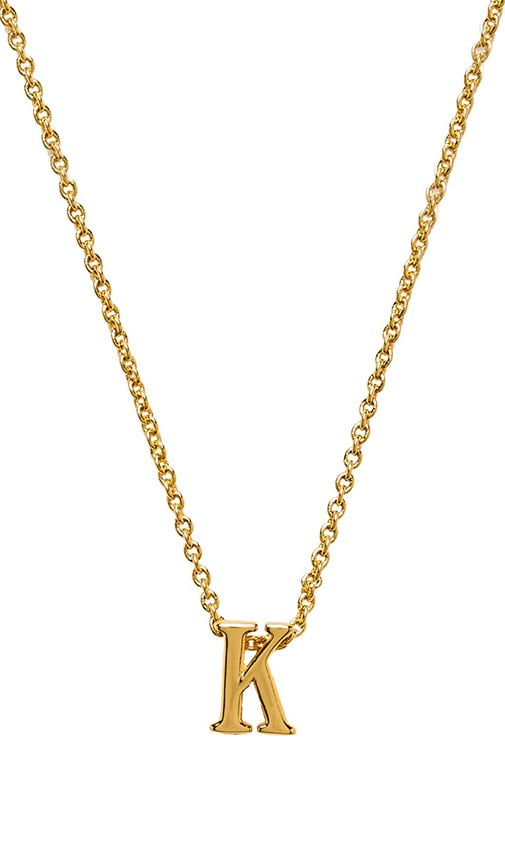 Alphabet Initial Necklace