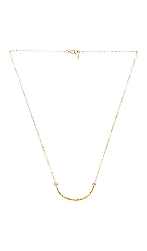 Taner Curved Small Necklace
