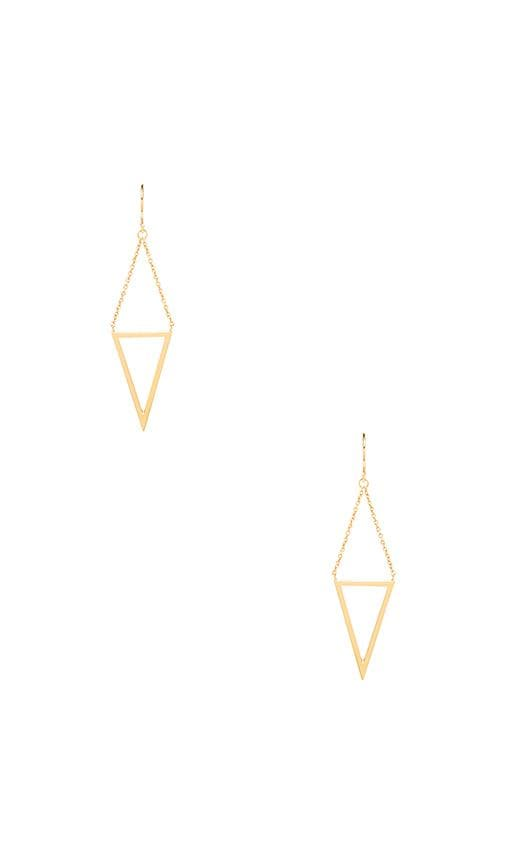 Mika Cutout Drop Earrings