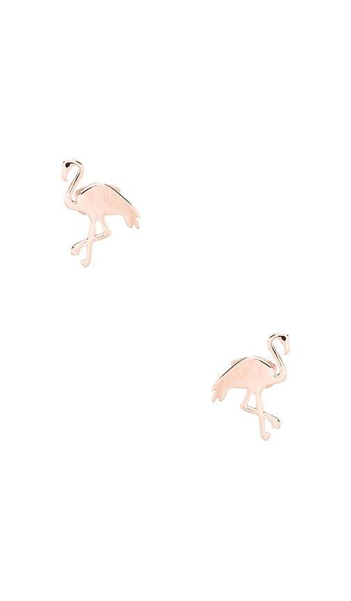 Flamingo Studs